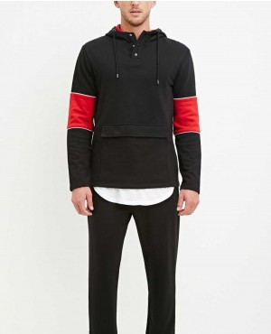 Black-and-Red-with-Tablet-Pocket-Stylish-Hoodie-RO-10217-(1)