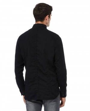 Black-Chest-Zip-Pocket-Denim-Shirt-RO-2346-20-(1)