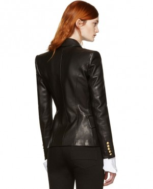 Black-Leather-Double-Breasted-Blazer-RO-3690-20-(1)