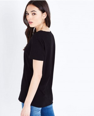 Black-Organic-Cotton-V-Neck-T-Shirt-RO-2475-20-(1)