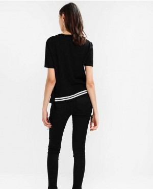 Black-T-Shirt-With-Side-Buckle-RO-2481-20-(1)