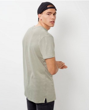 Brand-Your-Own-Olive-Green-Longline-T-Shirt-RO-103428-(1)