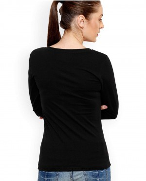 Casual-Black-Slim-Fit-V-Nack-T-Shirt-RO-2485-20-(1)