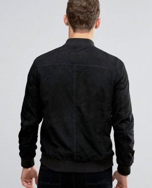 Cheap-Price-with-Lower-Minimum-Order-Quantity-Suede-Bomber-Jacket-RO-102388-(1)