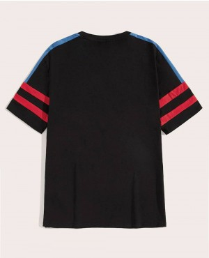 Custom-Contrast-Panel-Striped-T-Shirt-RO-112-19-(1)