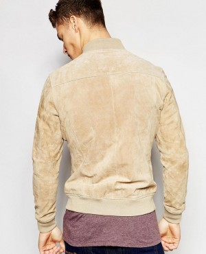 Custom-High-Quality-Ribbed-Collar-Men-Suede-Bomber-Leather-Jacket-RO-102378-(1)
