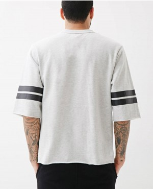 Custom-Logo-Short-Sleeves-Stripes-Crewneck-RO-2101-20-(1)