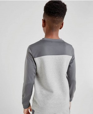 Custom-Men-Kids-100%-Cotton-Contrast-Crew-Neck-Basic-Pullover-Sweatshirts-RO-3408-20-(1)