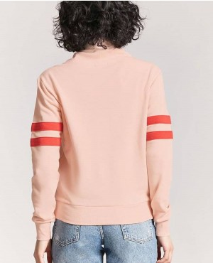 Cute Color And Great Style Pullover Hoodie With Peachy Graphic RO-2870-20