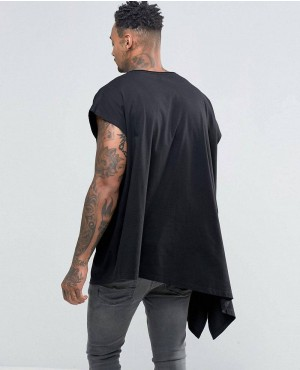 Extreme-Oversized-Drape-T-Shirt-With-Scoop-Neck-And-Asymmetric-Hem-In-Black-RO-102136-(1)