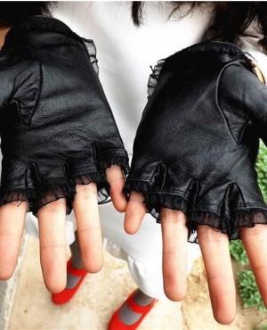 Fashion-Lady-Spring-Summer-Winter-Black-Genuine-Half-Finger-Gloves-RO-2372-20-(1)