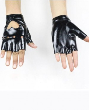 Faux-Leather-Nightclub-Show-Dance-Fitness-Fingerless-Gloves-RO-2375-20-(1)