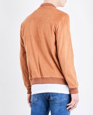 Faux-Suede-Custom-Ribbing-Bomber-Leather-Jacket-RO-3563-20-(1)