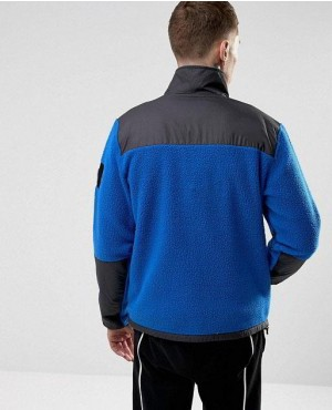 Fleece-Jacket-Mixed-Fabric-in-Blue-Black-RO-2223-20-(1)
