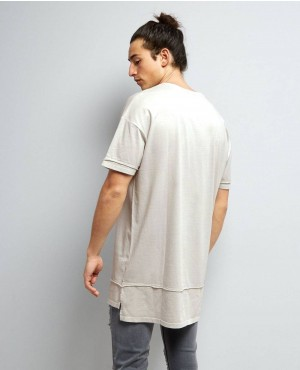 Grey-Layered-Longline-T-Shirt-RO-103443-(1)