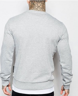 Grey-Skinny-Fit-Sweatshirt-with-Raglan-Sleeves-RO-10273-(1)