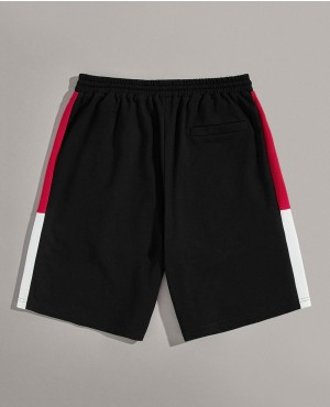 Guys-Cut-And-Sew-Slant-Pocket-Drawstring-Waist-Shorts-RO-151-19-(4)