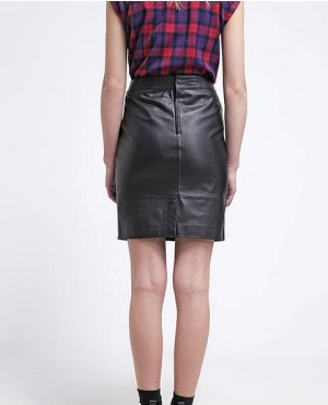 High-Quality-New-Sheep-Leather-Skirt-Black-RO-3766-20-(1)