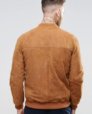 High-Quality-Suede-Bomber-Jacket-RO-102391-(1)