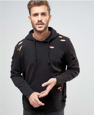 Hoodie-With-Rips-In-Black-Men-Hoodies-RO-103173-(1)