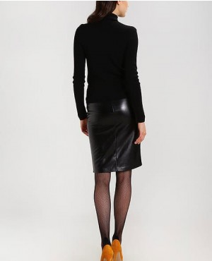 Hot-Selling-Pencil-Leather-Skirt-Black-RO-3769-20-(1)