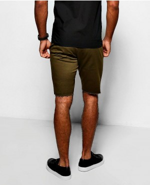 Khaki-Skinny-Fit-Raw-Edge-Chino-Short-RO-103344-(1)