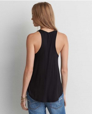 Ladies-Black-Decent-Style-Tank-Top-RO-102245-(1)