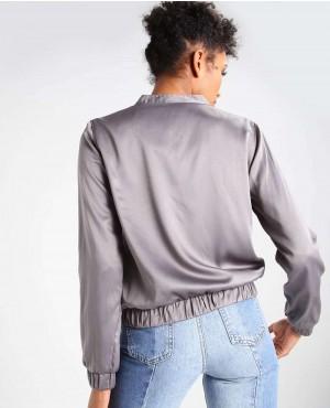 Ladies-Grey-Varsity-Short-Jacket-RO-103005-(1)