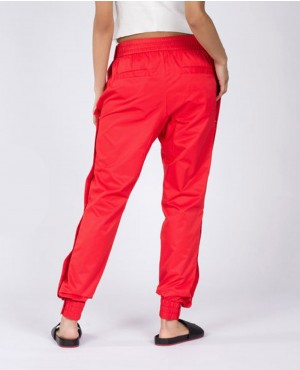 Ladies-Red-Sweatpant-with-Buttons-on-the-Sides-RO-10136-(1)