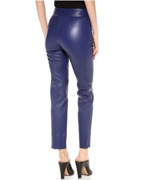 Ladies-Royal-Blue-Leather-Pant-RO-102772-(1)