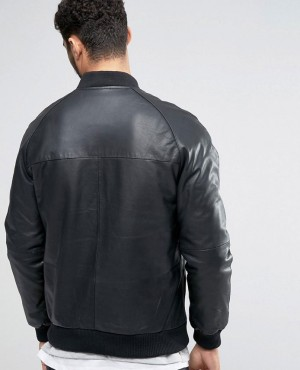 Leather-Bomber-Jacket-in-Black-RO-102329-(1)
