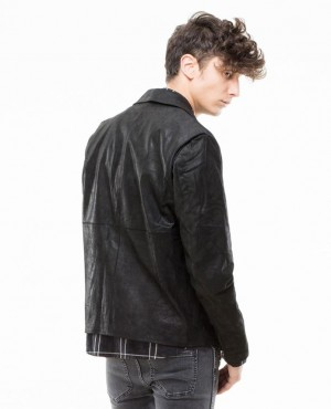 Leather-Jacket-with-Bomber-Style-Collar-RO-102332-(1)