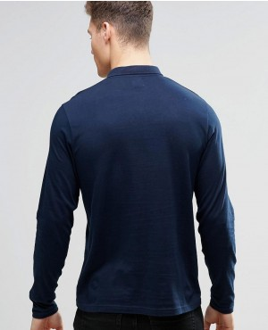 Long-Sleeve-Jersey-Polo-In-Navy-RO-102542-(1)