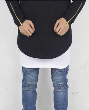 Men-Black-Biker-Long-Length-Hoodie-with-Side-Zipper-RO-1236-(1)