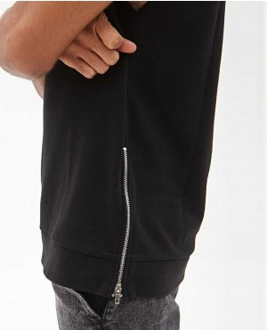 Men-Black-Body-Sleeveless-Hoodie-with-Side-Zipper-RO-1262-(1)