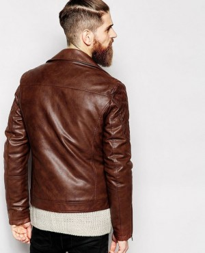 Men-Bomber-Leather-Jacket-with-Shoulder-Padding-RO-102344-(1)