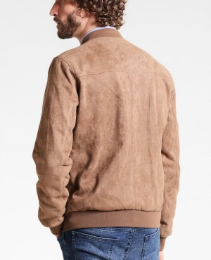 Men-Bomber-Lether-Jacket-Camel-RO-103239-(1)