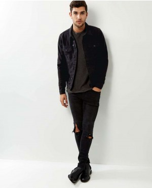 Men-Cotton-Jacket-in-Black-RO-103122-(1)