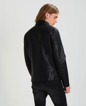 Men-Faux-leather-Jacket-Black-RO-103248-(1)