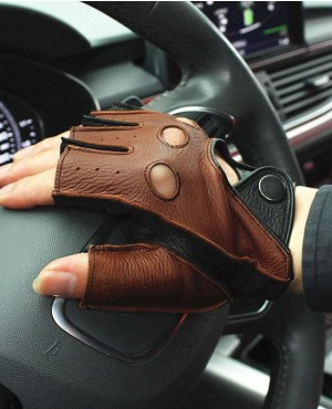 Men-Genuine-Leather-Gloves-Driving-Unlined-100%-Deerskin--RO-2384-20-(1)