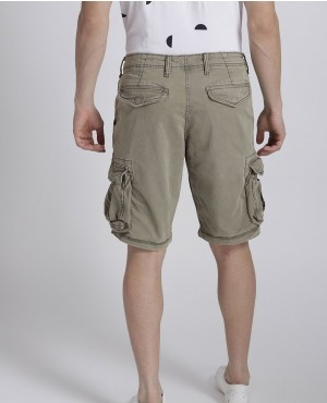 Men-Olive-Green-Solid-Regular-Fit-Cargo-Shorts-RO-2311-20-(1)