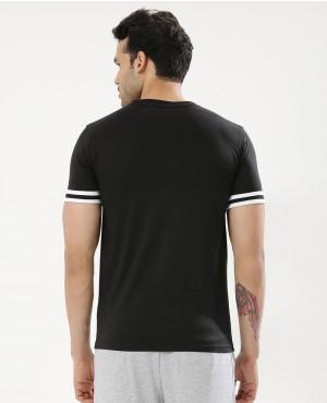 Men-Striped-Sleeve-Polo-With-Zipper-RO-103304-(1)