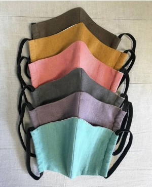 Multi Colors 2 Layer  Washable and Reuseable Face Mask RO-3889-20