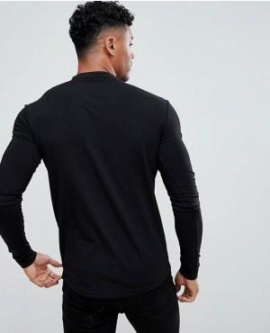 Muscles-Gym-Fit-Long-Sleeves-Top-In-Dark-Grey-RO-2261-20-(1)