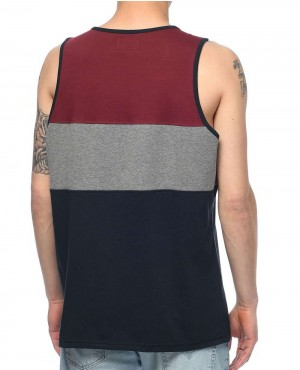 Navy-Charcoal-&-Burgundy-Tank-Top-RO-103501-(1)