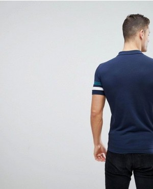 New-Arrival-Pique-Polo-Shirt-Regular-Fit-In-Nevy-Blue-RO-2264-20-(1)