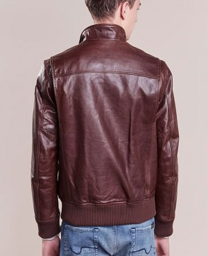 New-Look-High-Quality-Leather-Jacket-Caffe-RO-103263-(1)