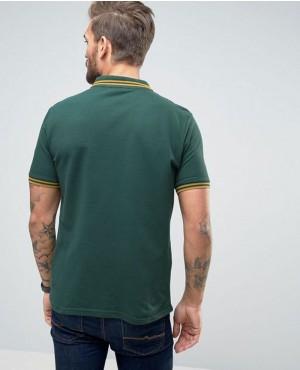 New-Look-Polo-Shirt-In-Dark-Green-Men-Shirts-RO-103305-(1)
