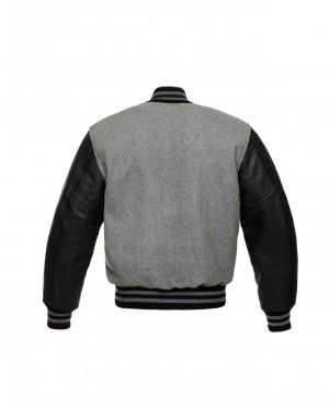 New-Look-Women-College-Lettermen-Wool-&-Leather-Varsity-Jacket-RO-3531-20-(1)