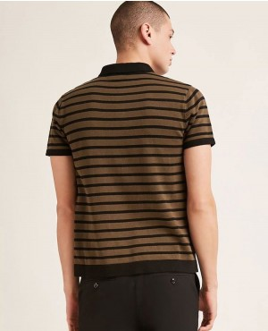 New-Popular-Short-Sleeve-Stripes-Sweater-Knit-Polo-Shirt-RO-2267-20-(1)